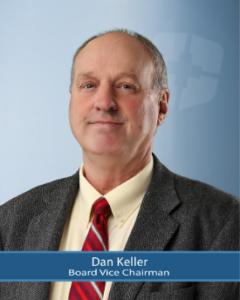 Board Vice Chairman, Dan Keller