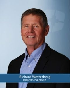 Board Chairman, Richard Westerberg