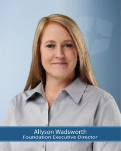 Foundation Executive Officer, Allyson Wadsworth