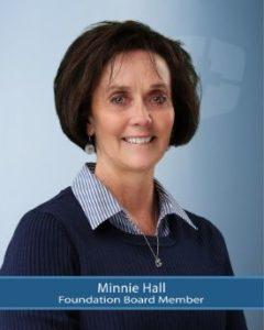 Foundation Board Member, Minnie Hall
