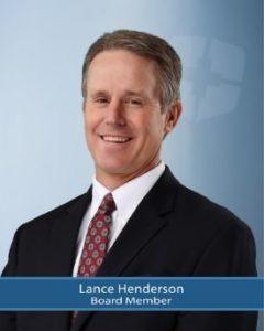 Board Member, Lance Henderson