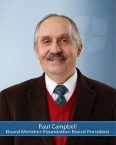 Board Member, Paul Campbell
