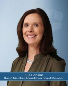 Board Member, Sue Conklin