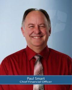 CFO, Paul Smart